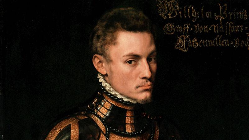 Anthonis Mor: portret van Willem van Oranje, ca. 1554