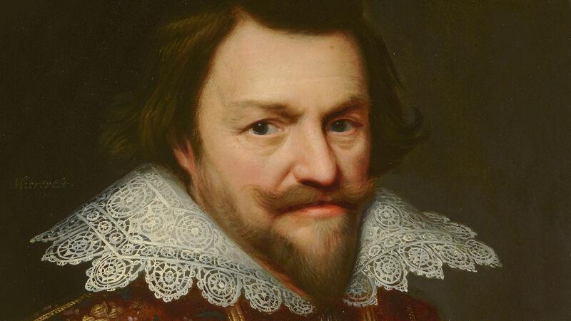 Portret van Filips Willem