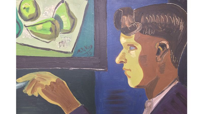 Mandus De Vos: Zelfportret (1955)