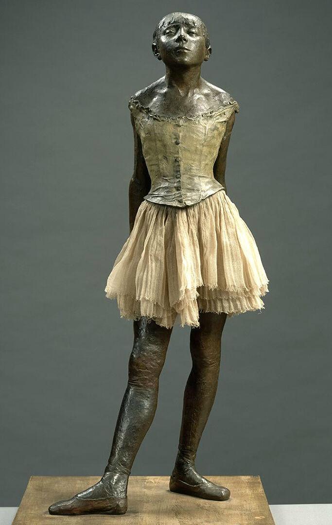 Edgar Degas: La petite danseuse de quatorze ans