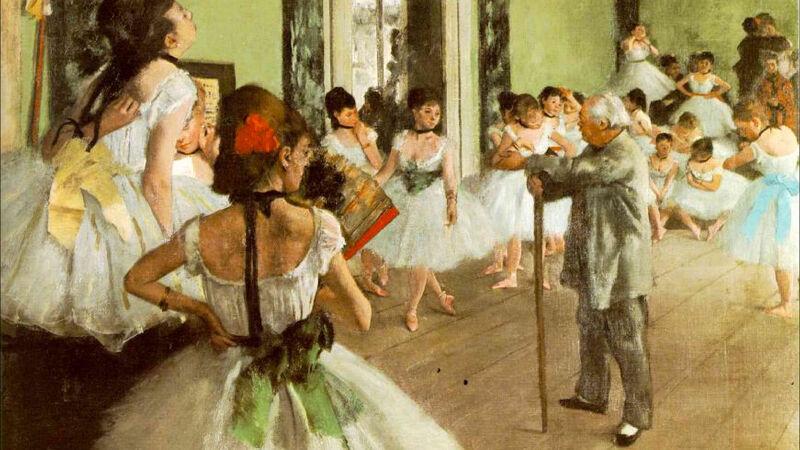 Edgar Degas: Classe de dance