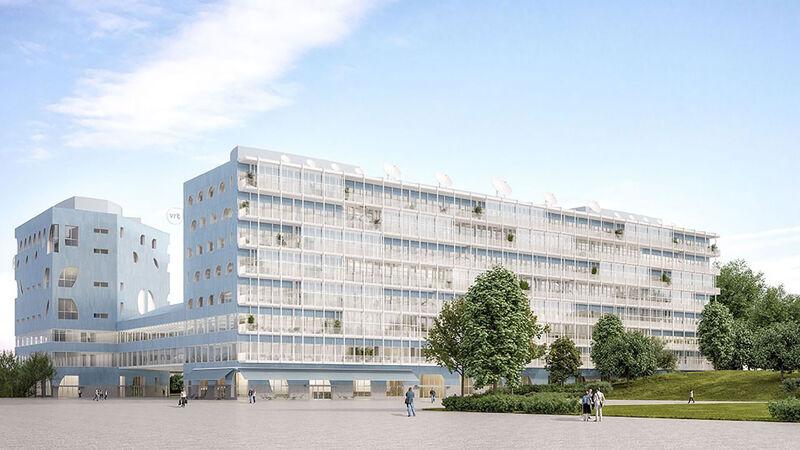het nieuwe VRT-gebouw