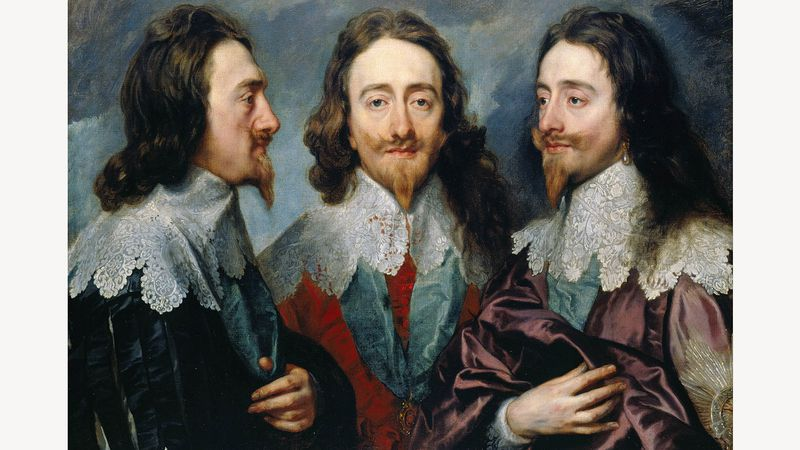 Anthony Van Dyck: Charles I in drie posities (1635-36)