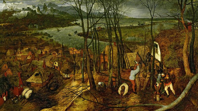 Pieter Bruegel: De sombere dag (1565)