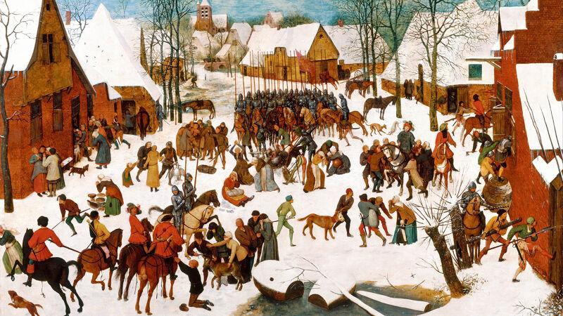 Pieter Bruegel: Kindermoord in Betlehem (1566-67)