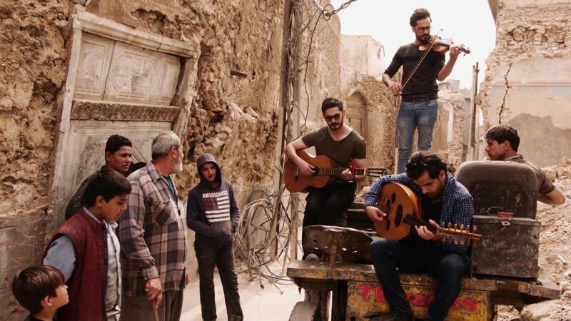 Hakam, Khalid en Mohammed in Mosul