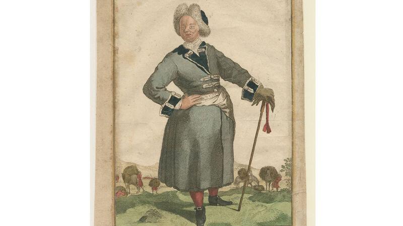 Geertruid ter Brugge (1710), ook bekend als La Dragonne, een andere Hollandse transgender-soldaat