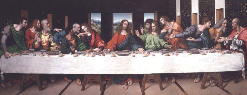 Atelier da Vinci: Het Laatste Avondmaal (1506-1507)