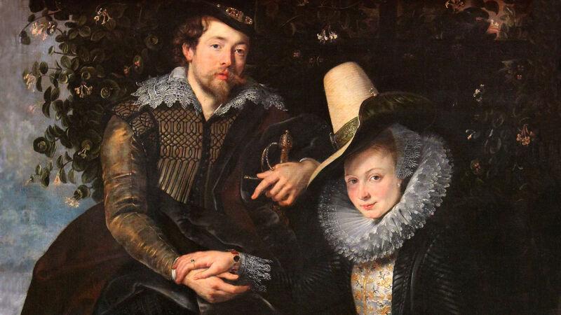 P.P. Rubens: de schilder en zijn vrouw Isabella Brant