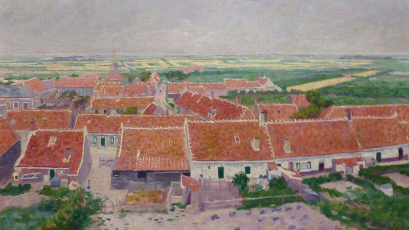 Ferdinand Hart Nibbrig: Dorp Zoutelande (ca.1910)