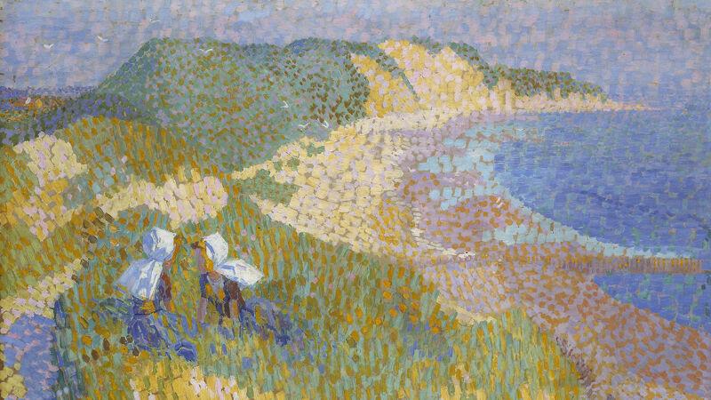 Jan Toorop: Duinen en zee in Zoutelande (1907)