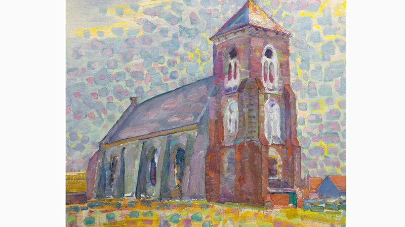 Piet Mondriaan: Kerk in Zoutelande (1909)
