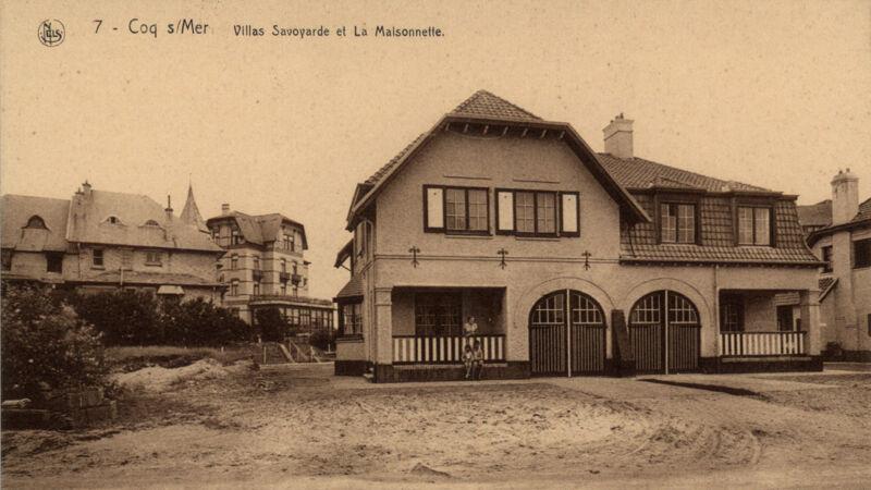 Villa Savoyarde en La Maisonette (voor de latere verbouwingen)