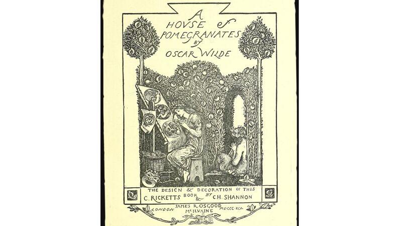 Titelblad van Oscar Wilde: A house of pomegranates