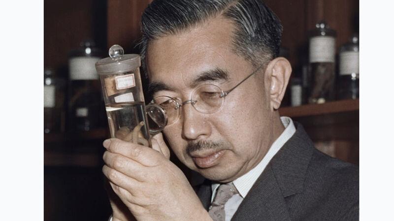 Keizer Hirohito, amateur-bioloog