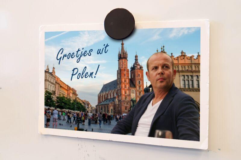 Groetjes uit Polen!