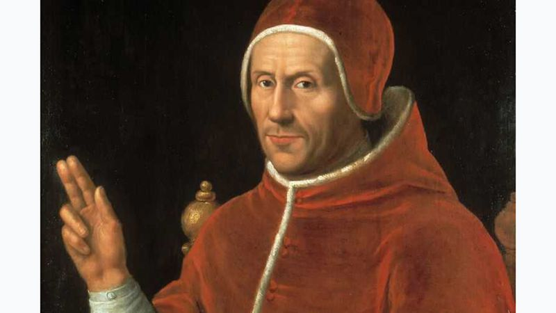 Jan van Scorel: portret van paus Adrianus VI
