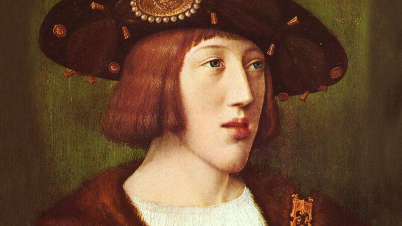 Bernard van Orley: Karel V als jongeman