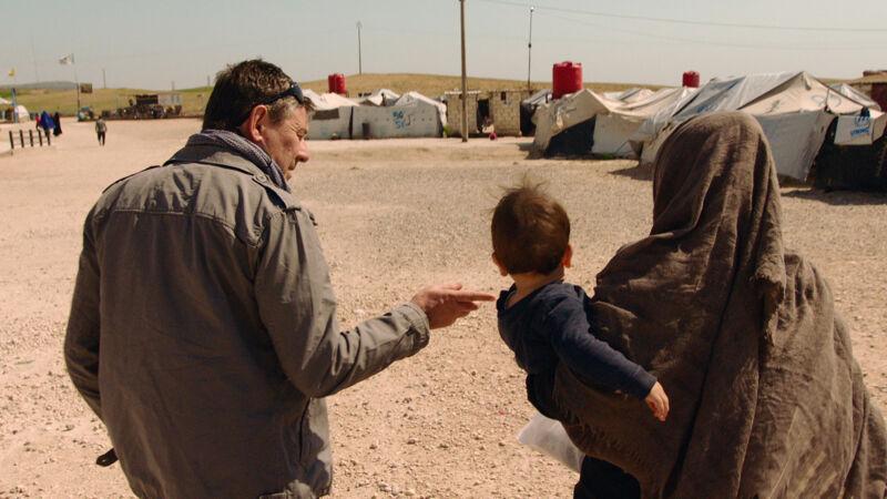 Vranckx en zijn team vonden de kinderen uiteindelijk in het kamp Al-Roj.