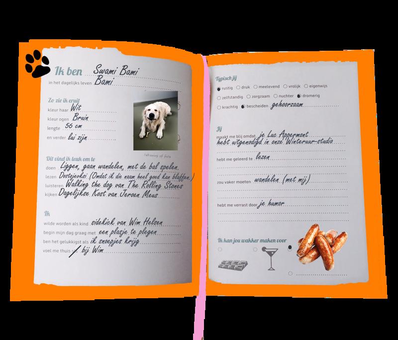 Het vriendschapsboekje van Wim