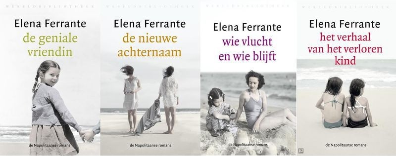 De Napolitaanse romans van Elena Ferrante