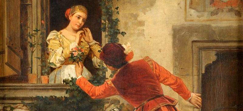 Heinrich von Angeli: Romeo & Julia (1871)