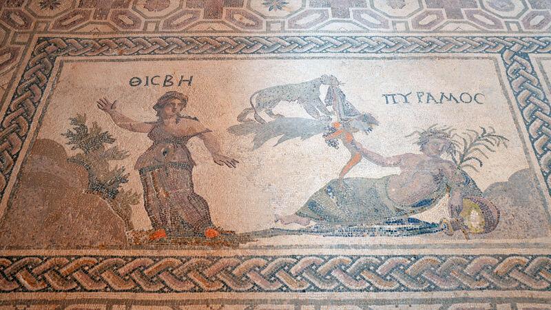 Mozaïek van Pyramus en Thisbe