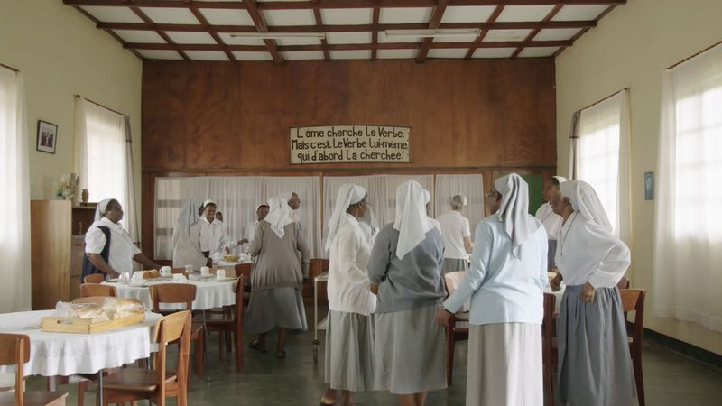 Het klooster van zuster Maria