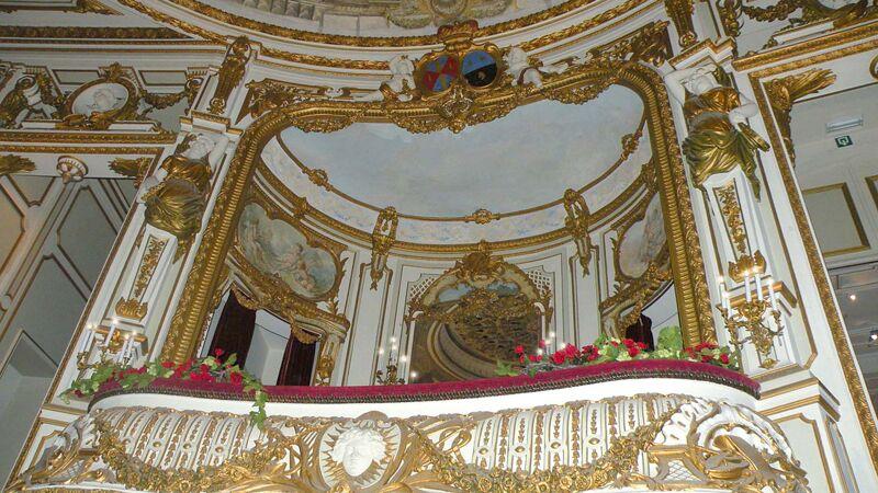 Theater van Chimay: de prinselijke loge
