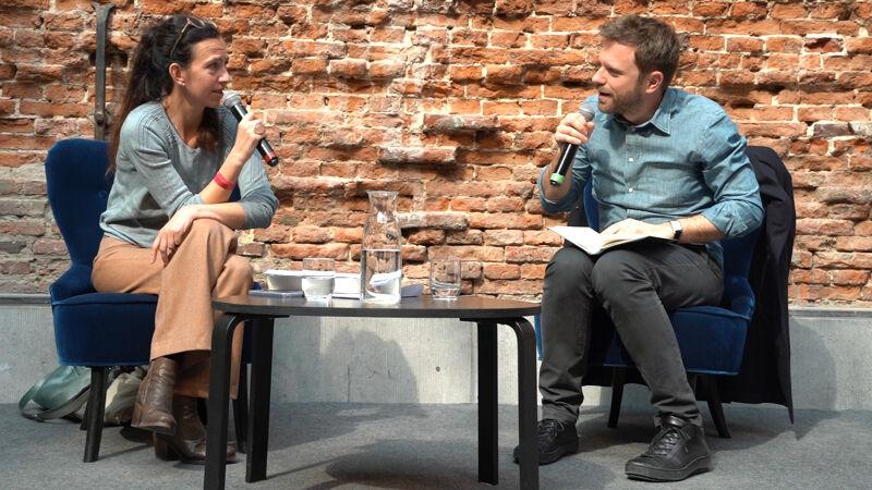In La Bellone wordt Paolo Giordano geïnterviewd door Nicky Aerts.