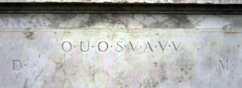 De inscriptie op The Shepherd's Monument