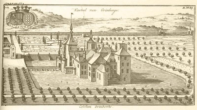 'Castellum Grimberghe', 1705