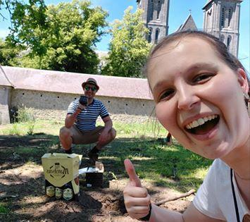 De heilige graal gevonden! Veel plezier ermee, Christophe en Larissa!