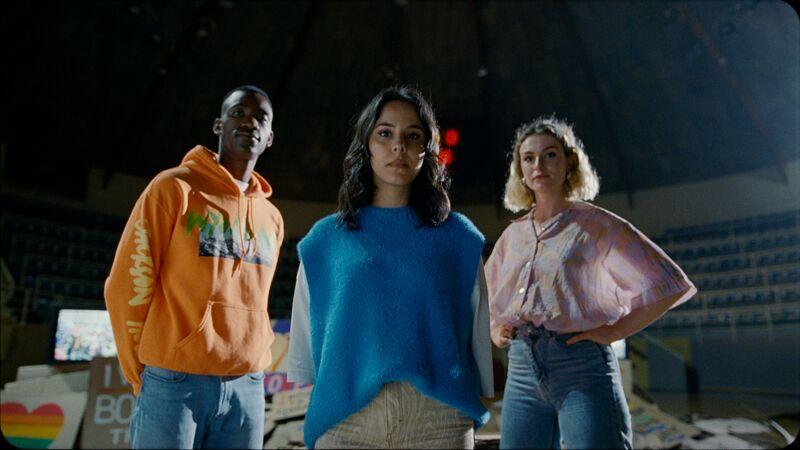 Stéphan, Kawtar en Gloria