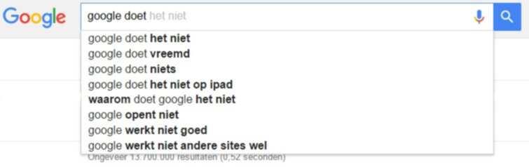 Wat doet Google