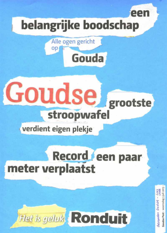 Stroopwafel record