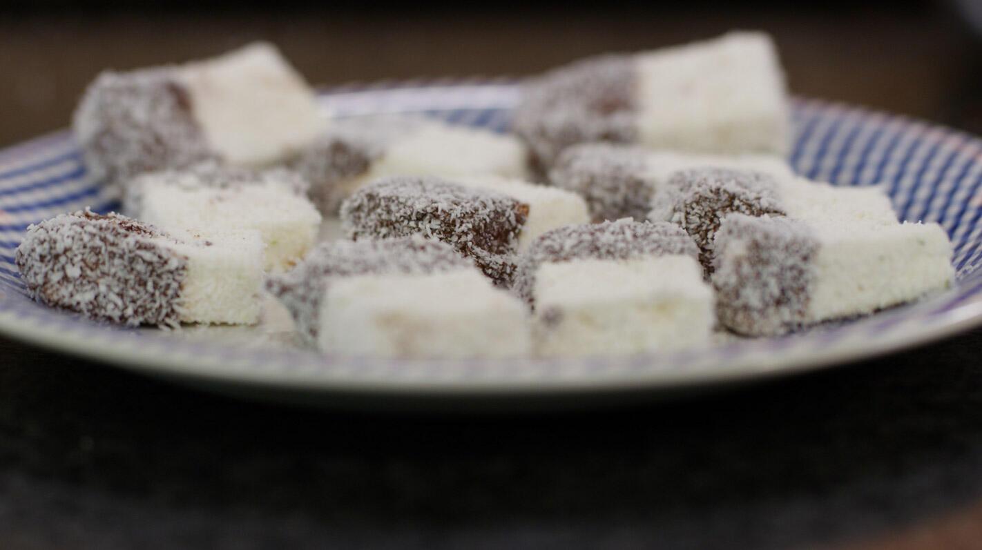 Spekken met limoen en kokos