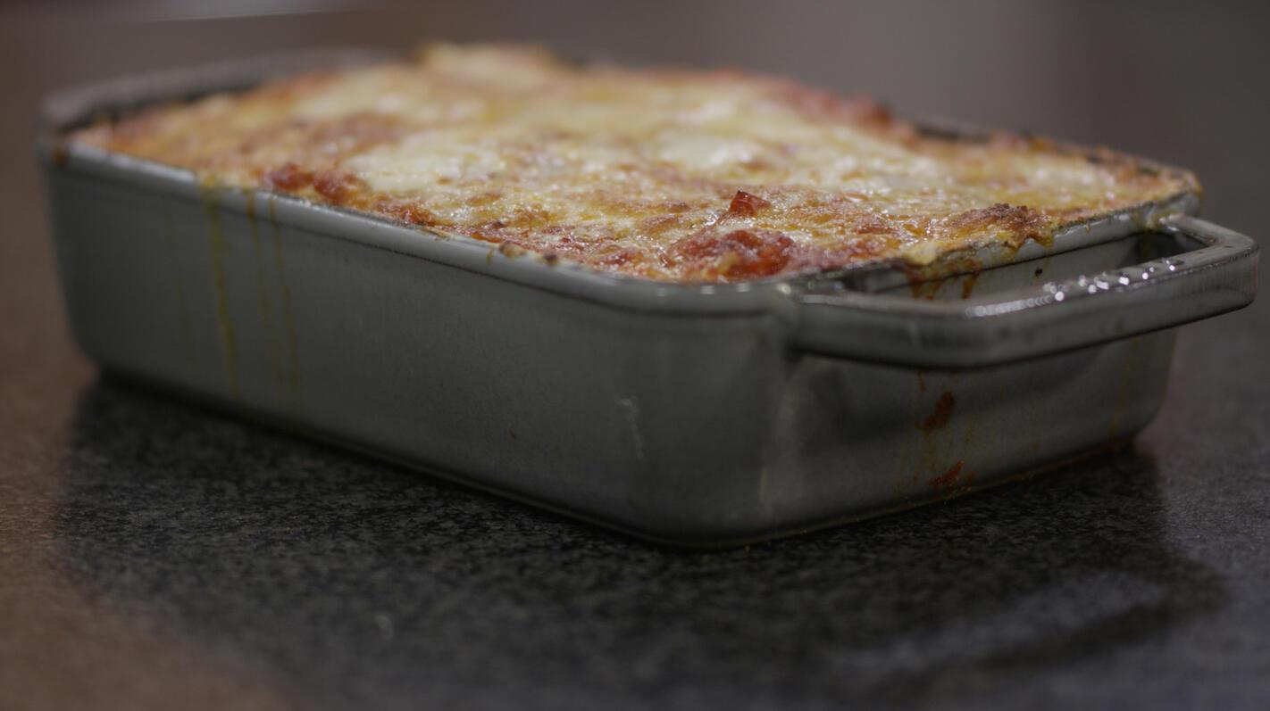 Lasagne met gegrilde groenten