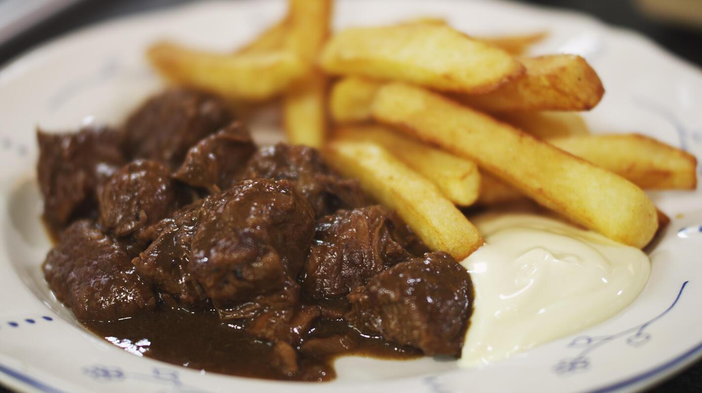 Stoofvlees met friet