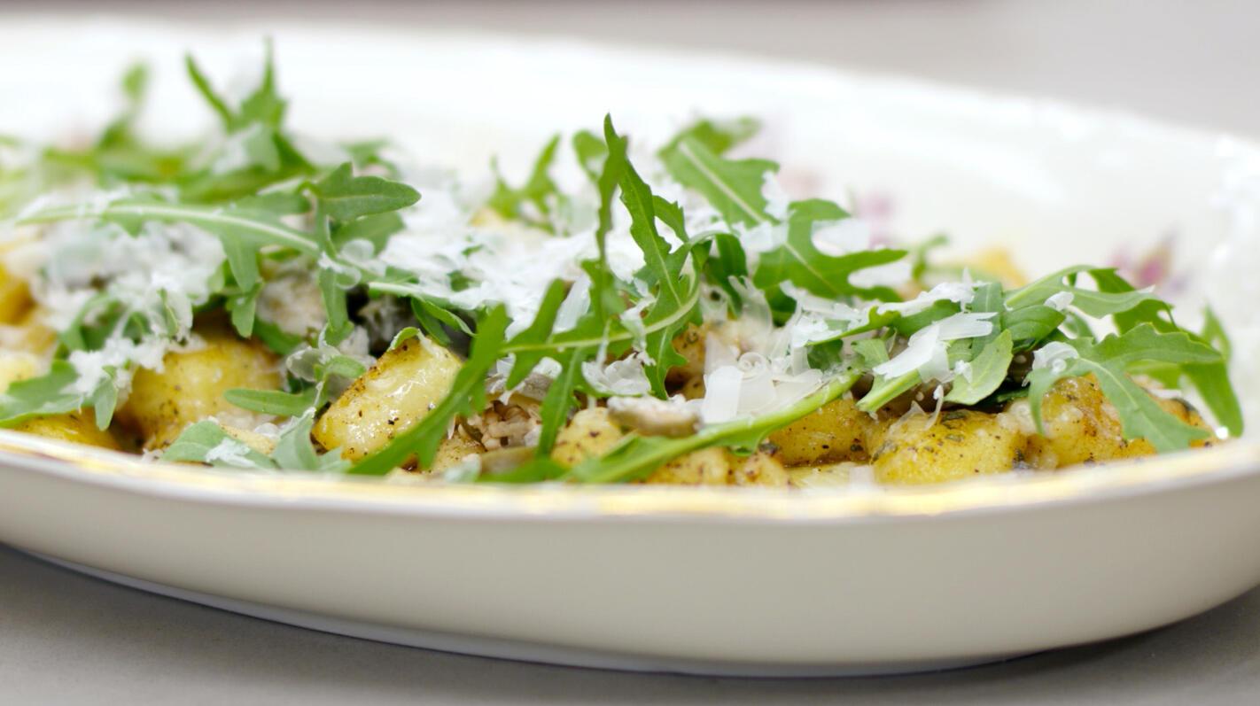 Gnocchi met abdijkaas, salie en bruine boter