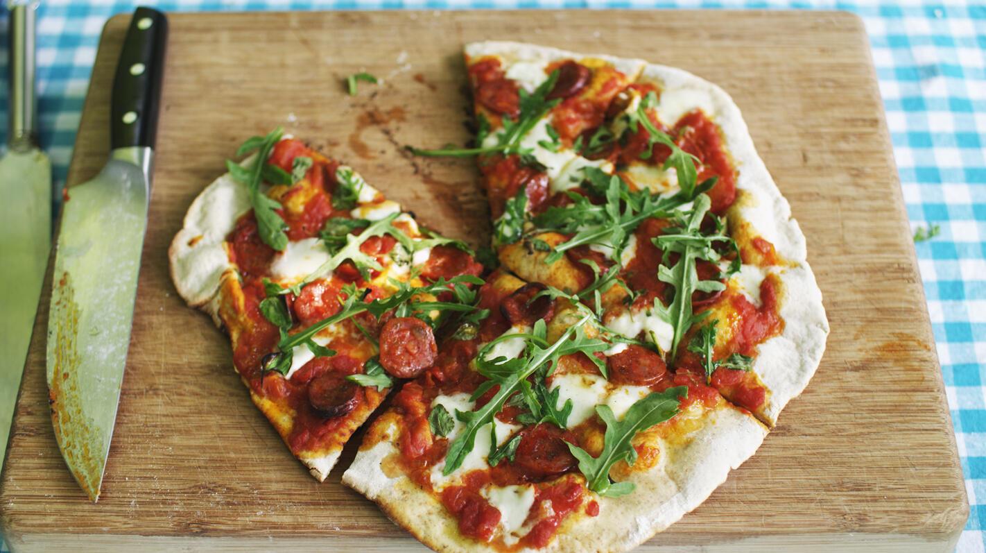 eigen pizza beleggen