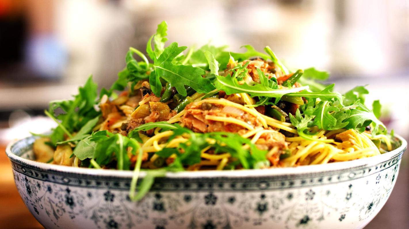 Spaghetti niçoise