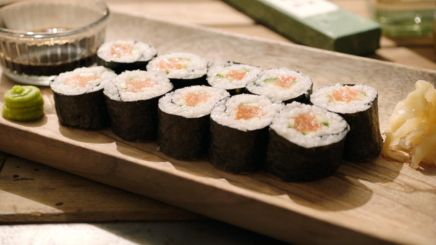 Simpele sushi maki