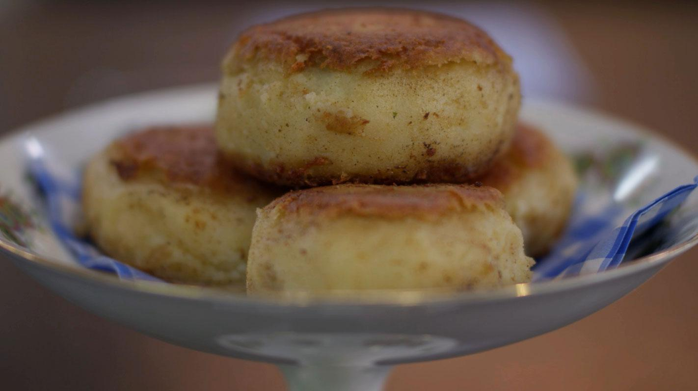 Aardappelcakes met gehakt