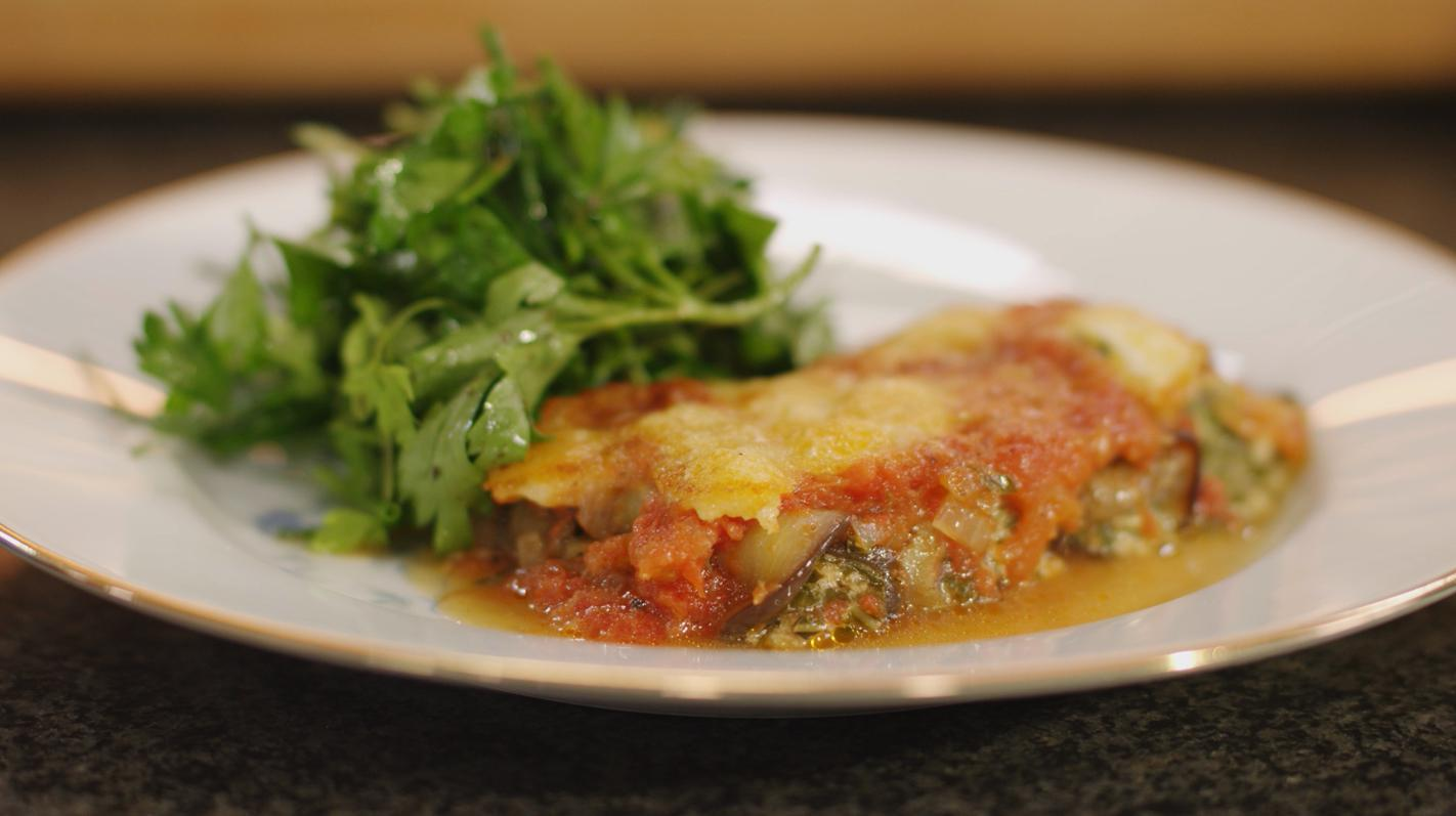 Cannelloni van aubergine