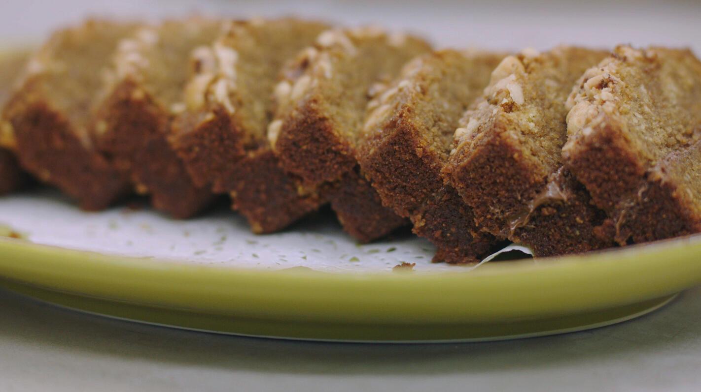 Espressocake met hazelnoot en choco