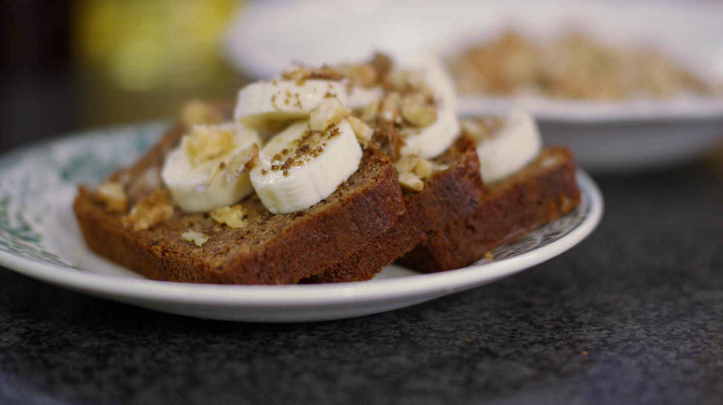 Bananen-notenbrood