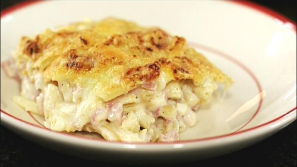 macaroni met ham en kaas | dagelijkse kost