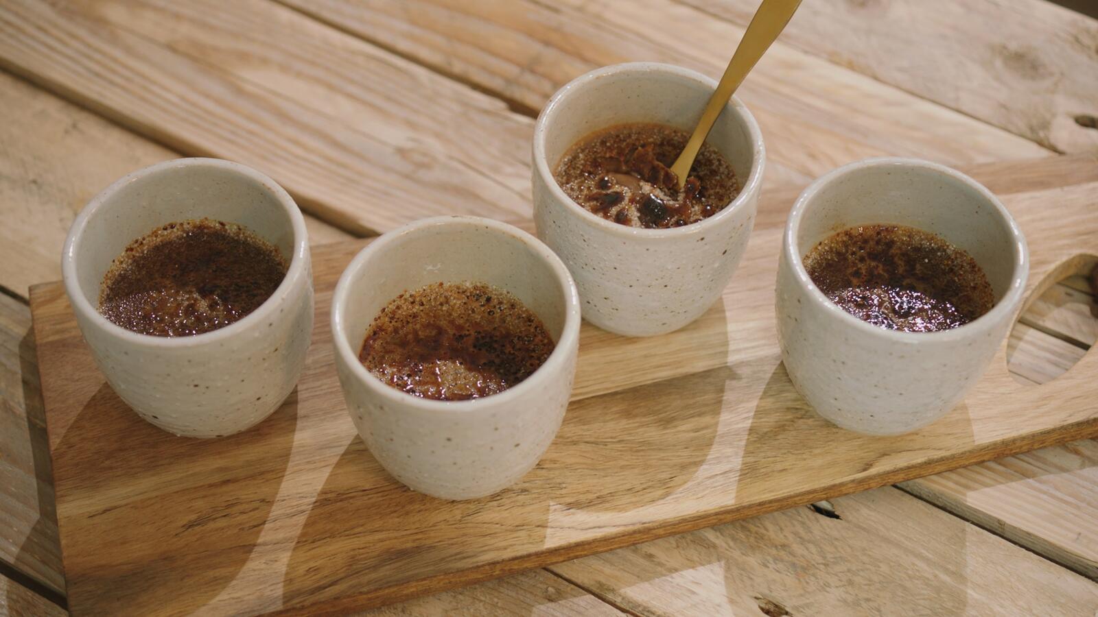 Chocolade-crème brûlée met grof zeezout