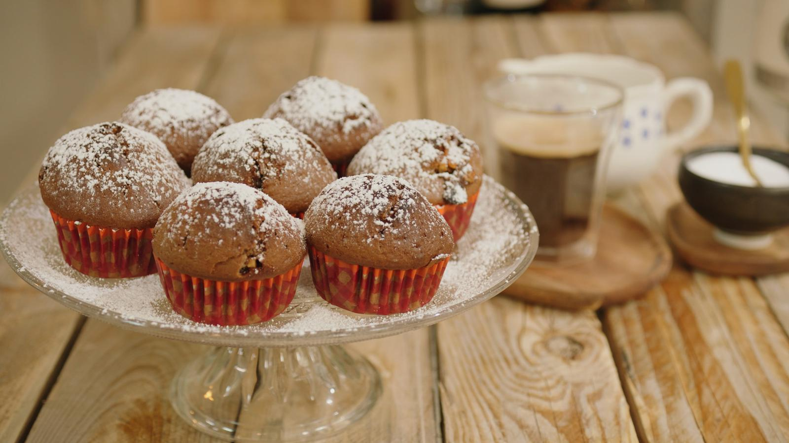 Muffins met Snickers